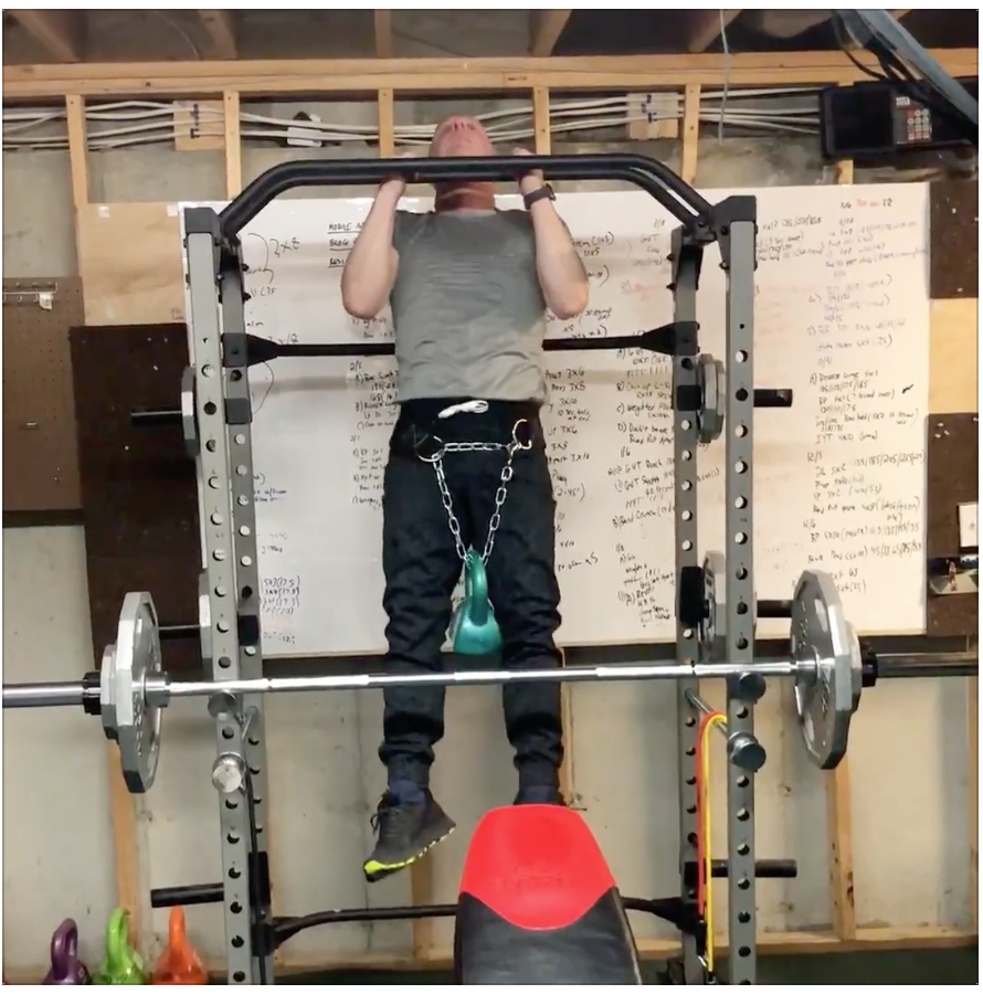 Bill Pull-Up Strength At Home