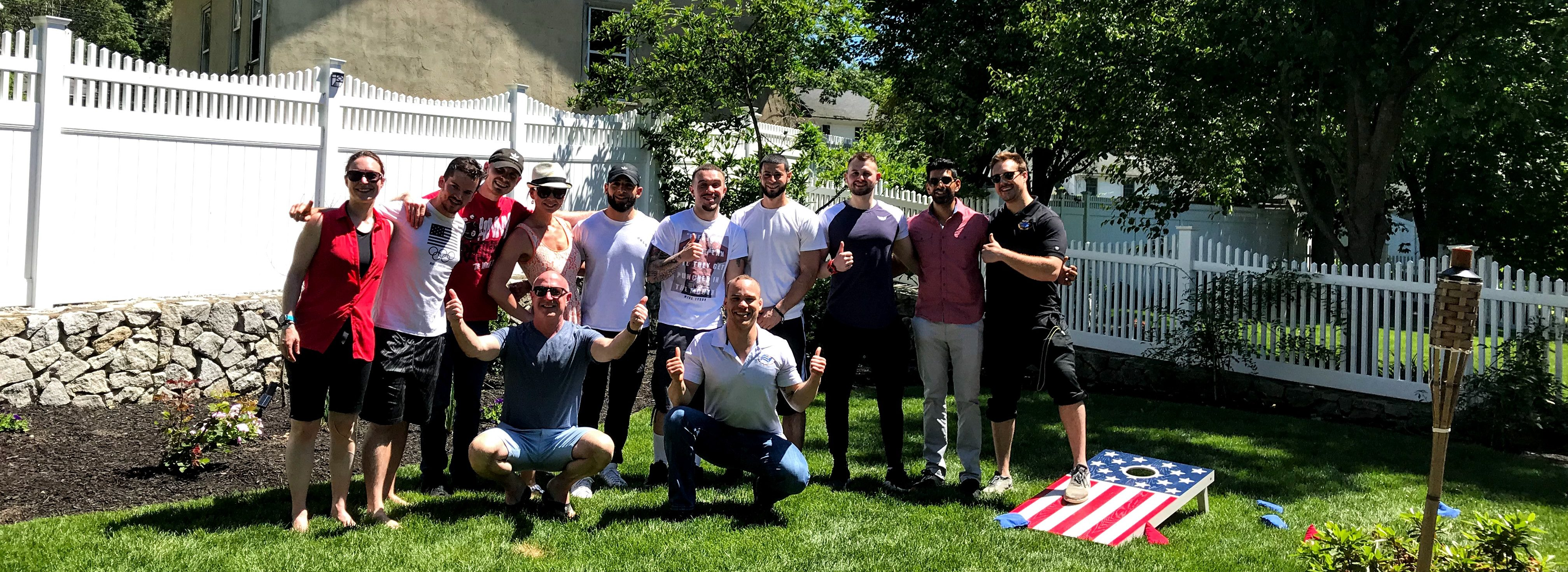Golden Home Fitness Summer 2019 BBQ Team Picture
